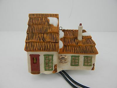 Dept 56 Dickens Village The Cottage of Bob Cratchit & Tiny Tim Ornament #98745