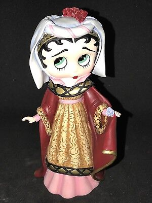 "BETTY BOOP Fashion Through The Ages 6"" CAMELOT BETTY Danbury Mint"