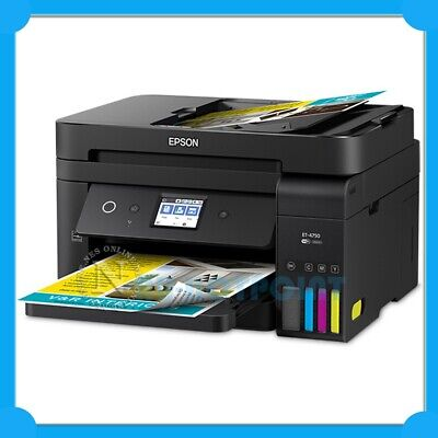 Epson WorkForce ET-4750 4in1 Inkjet Wireless Printer+Duplex+ADF+FAX T502 [HN]