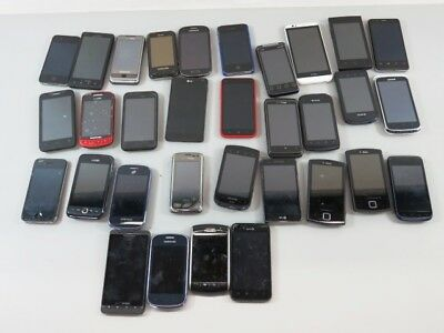 Bulk Lot of Cell Phones and Smartphones in As Is Condition/Not Tested - LOT