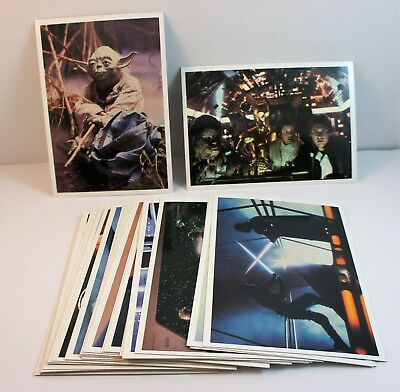 Vintage Star Wars Topps ESB Photo Cards Full Set of 30 5 x 7 Cards