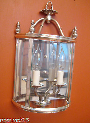 Vintage Lights pair 1970 Lightolier silver sconces Never Used