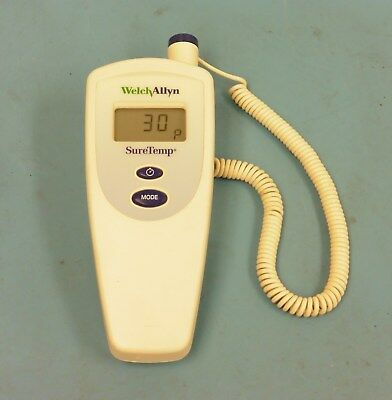 Welch Allyn 678 SureTemp Digital Thermometer w/ 02678-000 Oral Probe