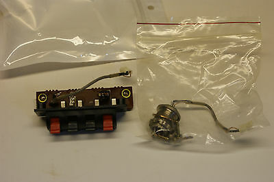 Kenwood R-2000 Communications Receiver Antenna Connector & Assembly. Tested.
