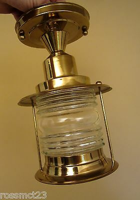 Vintage Lighting never used Mid Century maritime porch fixture   More Available