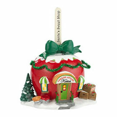 Dept 56 North Pole Village KATIE'S CANDIED APPLES 4030715 Retired  DEALER STOCK