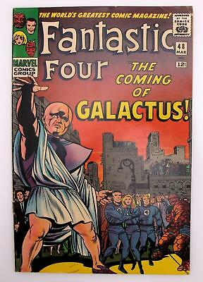 Fantastic Four #48 Qualified (F) 6.0, 1st App of Galactur & Silver Surfer