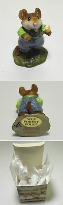 Wee Forest Folk 2000 Double Delight Mouse by William Petersen, M-261