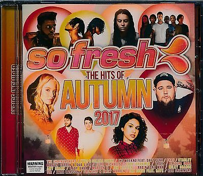 So Fresh The Hits Of Autumn 2017 CD NEW Pnau Starley Train Lady Gaga Maroon 5
