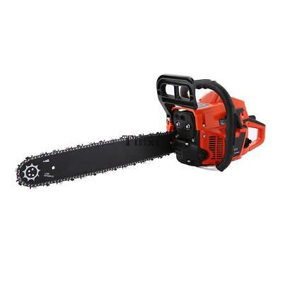 "Heavy Duty 2800W 62cc Oil Petrol Chainsaw 20"" Chain Saw Cover Accessories"