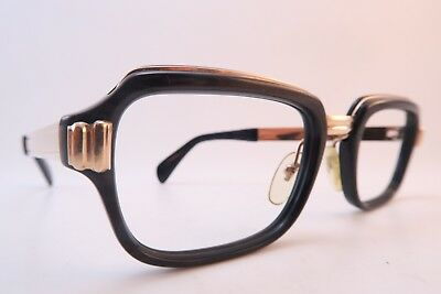 Vintage 60s eyeglasses frames gold filled ALRAN OPTIK size 52-20 made in Germany