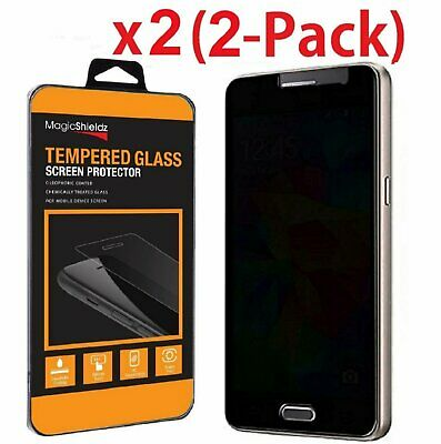 2-Pack Privacy Anti-Spy HD Tempered Glass Screen Protector for Samsung Galaxy S7