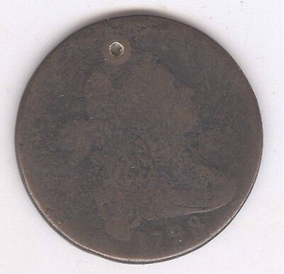 1798 Draped Bust Large Cent + Nice Circ + No Reserve!