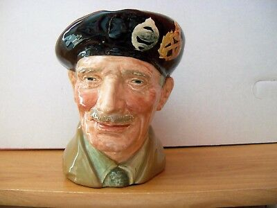 Royal Doulton Character Jug  MONTY    Large  D6202    Retired 1991
