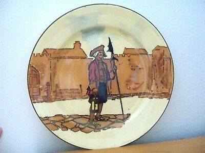 Royal Doulton Collector RACK Plate  NIGHT WATCHMAN FROM TOWN OFFICIALS SERIES