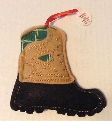 Running Strong For American Indian Youth Hiking Boot Christmas Ornament 2015