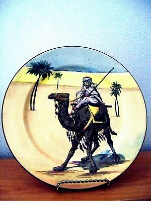 Royal Doulton   DESERT SCENES VIEW OF CAMEL COLLECTOR RACK PLATE