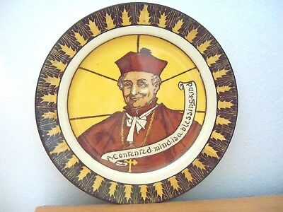 Royal Doulton   MONKS and MOTTOES COLLECTOR RACK PLATE