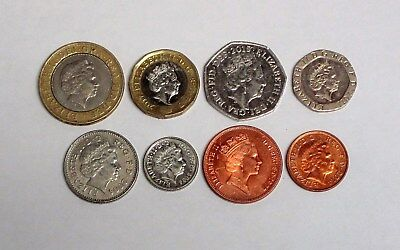 Circulated Lot of the Modern Decimal British Coins