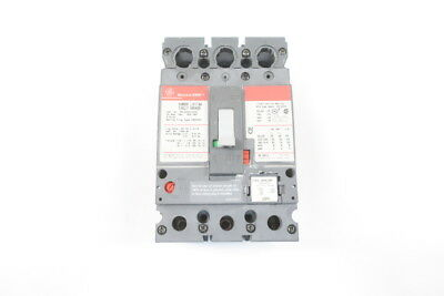 Ge Sela36At0030 Spectra Rms 30A 3P Circuit Breaker 600V-Ac W/ 20A Plug D593512