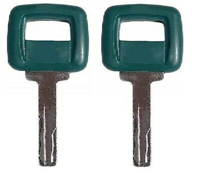 17225331 New 2 Ignition Keys For Volvo Articulated Hauler Models A20C,25C,30C