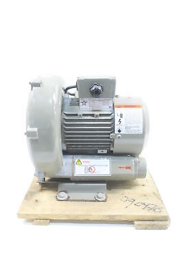 Allstar RB2-067-1 Regenerative Blower 1-1/4in Npt 63cfm 0.67hp 230v-ac