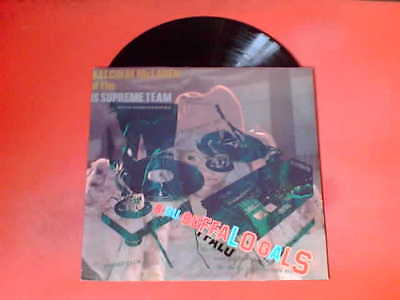 """MALCOLM MCLAREN AND THE WORLD FAMOUS SUPREME TEAM Buffalo Gals 12"""" Vinyl!"""