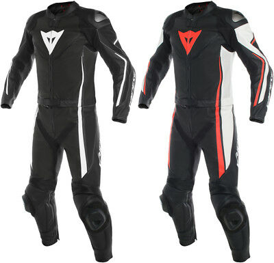 Dainese Mens Assen 2 Piece Perforated Leather Suit