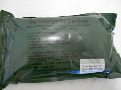 US Army IFAK Emergency Bandage Trauma Wound Dressing (6in)