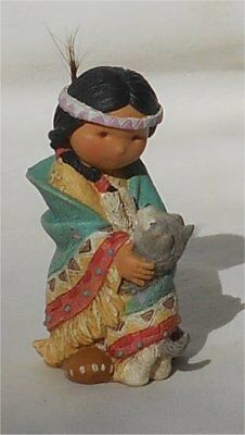 1994 Enesco Friends of the Feather Dances With Wolf