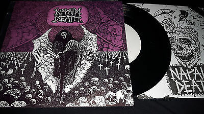 napalm death - live in birmingham 7  inch boot press heresy sob electro hippies