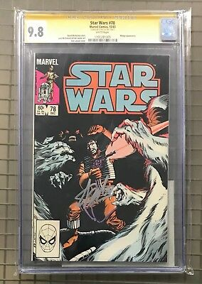 STAR WARS #78 Marvel Comics 1983 Stan Lee Signed AUTO CGC 9.8 Wedge Appearance
