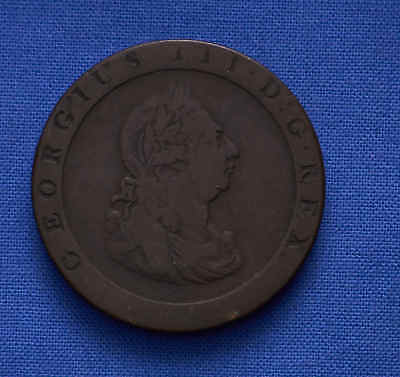 1797  Great Britain Half Penny. No Reserve.