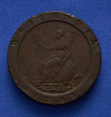 1797 Great Britain Penny. Choice. VF. No Reserve.