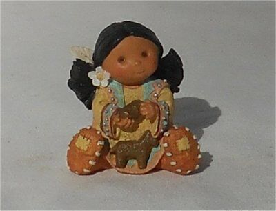 Enesco Friends of the Feather Small Girl With Clay