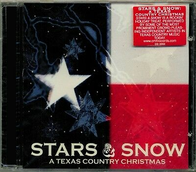 Stars & Snow  A Texas Country Christmas  RARE OOP ORIG Various Artists CD (New!)