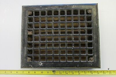 Vintage Steel Furnace Heater Floor Grate Lot D