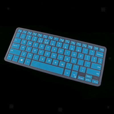 Waterproof Silicone Keyboard Cover Protector for Dell XPS13 9350/9360 Blue
