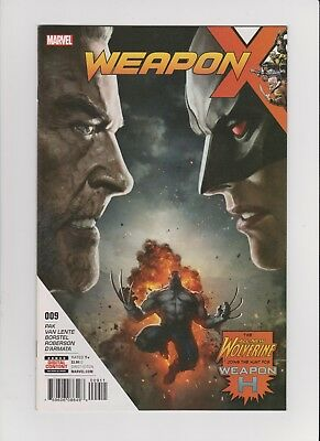 Weapon X (2017) #9 NM WEAPON H! HOT!!