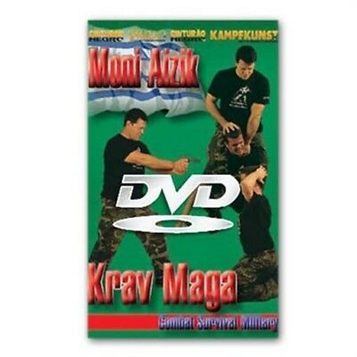 Israeli Commando Krav Maga Combat Survival Training DVD Moni Aizik SWAT military