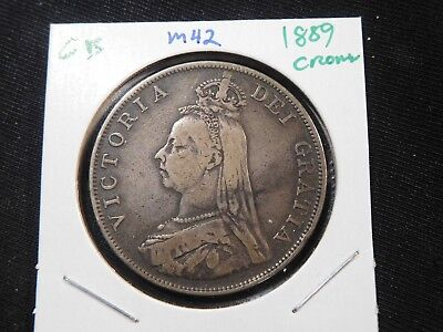 M42 Great Britain 1889 Crown