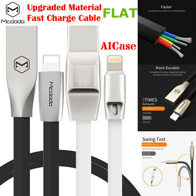 MFI Lightning Fast Charging Cable USB Charger Data Sync F iPhone X 8/6s 7 8 Plus