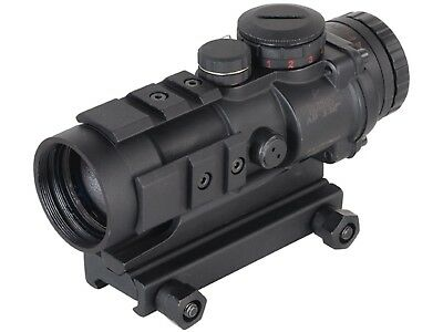 Burris AR-332 Ar Tactical 3X32 Prism Sight Rifle Scope with Flip Up Lens Covers