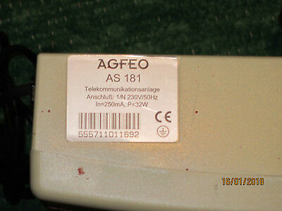 Agfeo AS181 ISDN-Telefonanlage