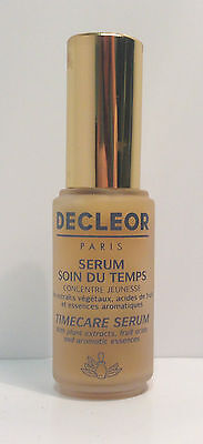 DECLEOR FOR MATURE SKIN - TIMECARE SERUM - 25ml - GREAT BARGAIN PRICE