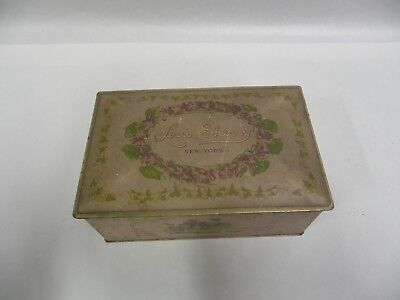 Vintage Louis Sherry New York Advertising One Pound Candy Tin (A3)