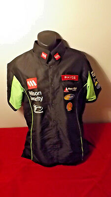 V8 Supercars Dick Johnson Racing Pit Shirt In Great Condition Size S (More M)