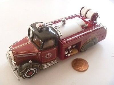 Vintage Diecast Matchbox Moy Yesteryears Bedford 1939 Yym35191 Fire Engine