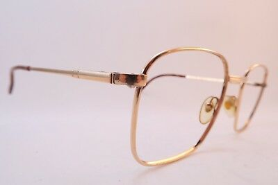 Vintage gold filled Henry Jullien eyeglasses frames D. Or Laminé Delano France