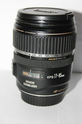 Canon EF-S 17-85mm f4-5.6 IS USM ULTRASONIC Zoom Lens with Image Stabilizer